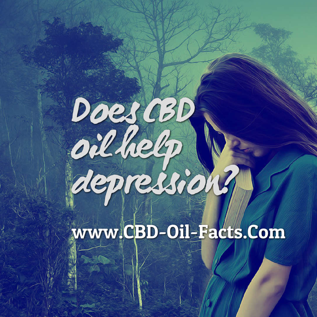 Does CBD oil help depression?
