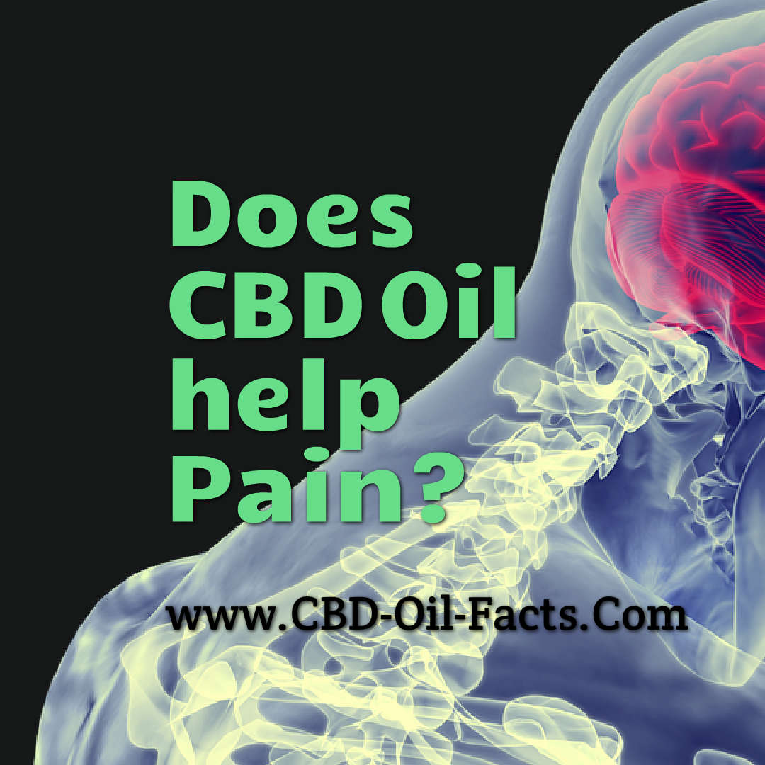 Does CBD Oil Help Pain?